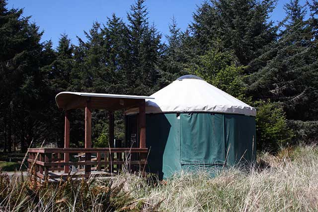 GO: The Yurts at Cape Disappointment