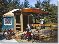 Yurts and cabins in the pacific northwest northwest for Oregon state parks yurts and cabins