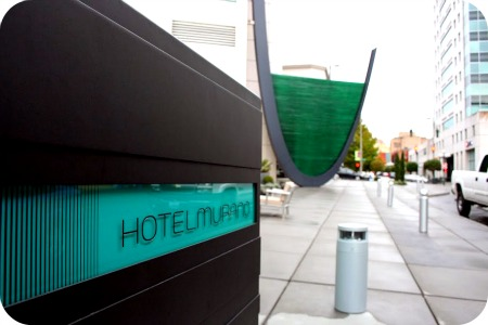 The swanky Hotel Murano in Tacoma