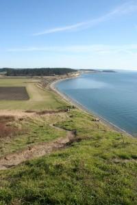 Ebeys Landing Hike