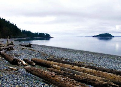 Beach at Deception Pass State Park, courtesy of Washington State Parks