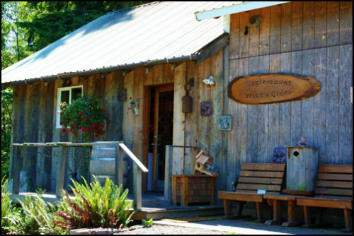 Eaglemount Cider and Wine Near port Townsend