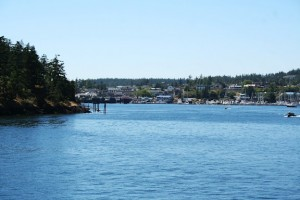Friday Harbor from the ferry