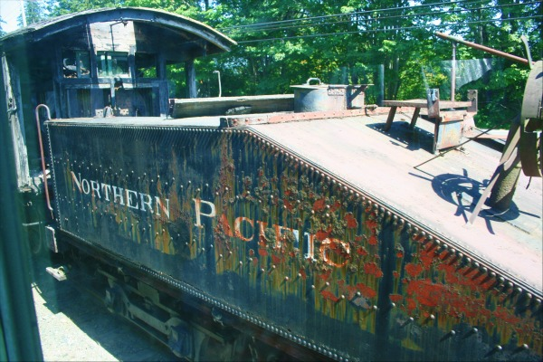 Northern Pacific Railroad Car