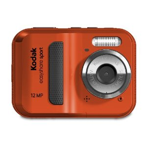 Kodak Waterproof Camera Red