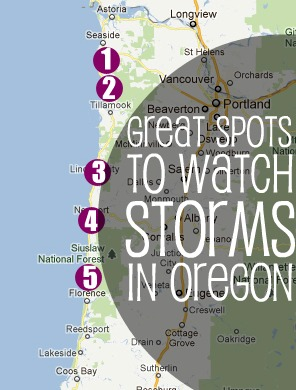 Storm Watching on the Oregon Coast Northwest TripFinder