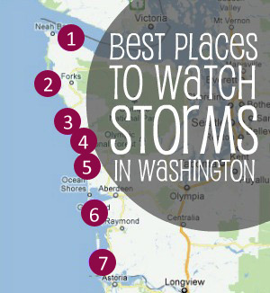 Best Places for Storm Watching - Washington