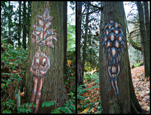 scary trees!