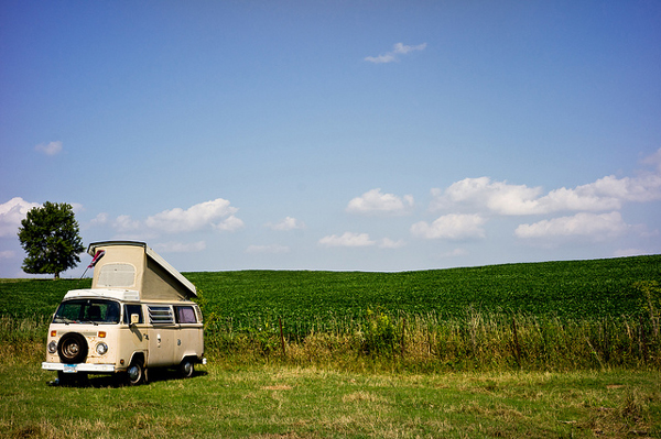 VW popup camper by Jeebus! via Flickr Creative Commons