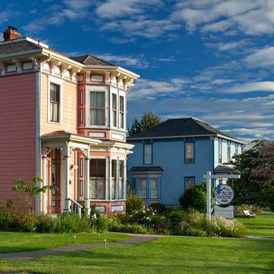 The Blue Goose Inn B&B in Coupeville, Whidbey Island
