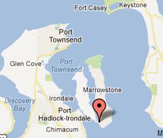 where is Marrowstone Island