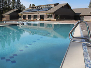 Central Oregon's Sunriver Resort boasts an awesome pool facility with waterslides and more called SHARC.