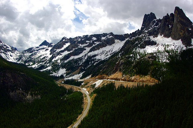 North Cascades Scenic Highway by Austin M. Kramer