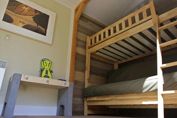 King County Parks shipping container bunk beds