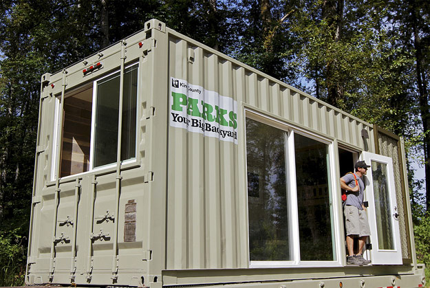 Tolt MacDonald Park Shipping Container for Camping
