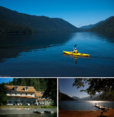 Quick Escape: Lake Crescent on Washington's Olympic Peninsula