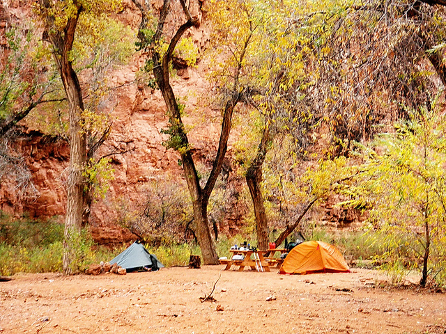 fall camping by AL_HikesAZ