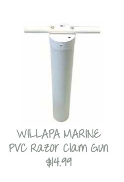 Razor Clamming Tube