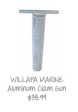 Aluminum Razor Clam Gun by West Marine