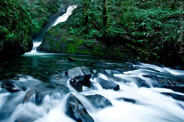 Bridal Veil Falls by UltaHeavyBeat via Flickr Creative Commons