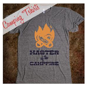 Cool Camping Tshirts
