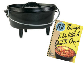 Lodge Dutch Oven for Campfire Cooking