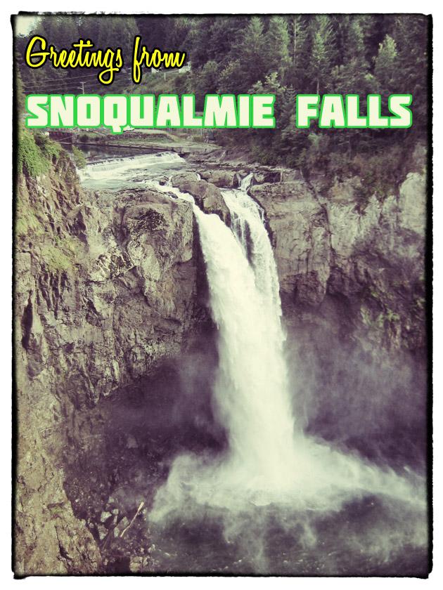 Twin Peaks Snoqualmie Falls Washington