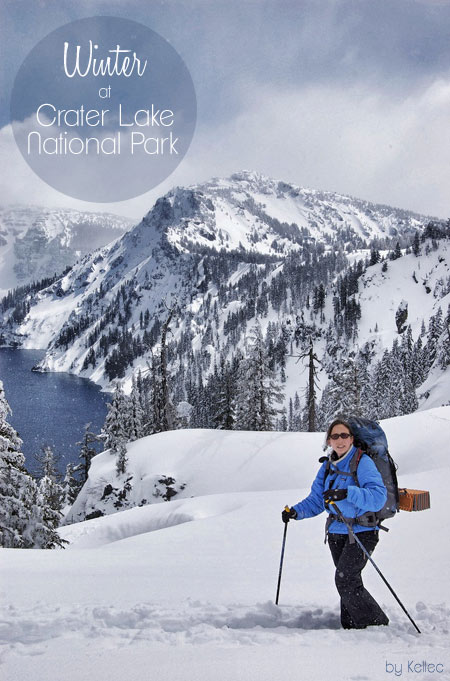 Winter Snowshoeing at Crater Lake National Park