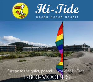 Hi-Tide Beach Resort in Moclips, Washington