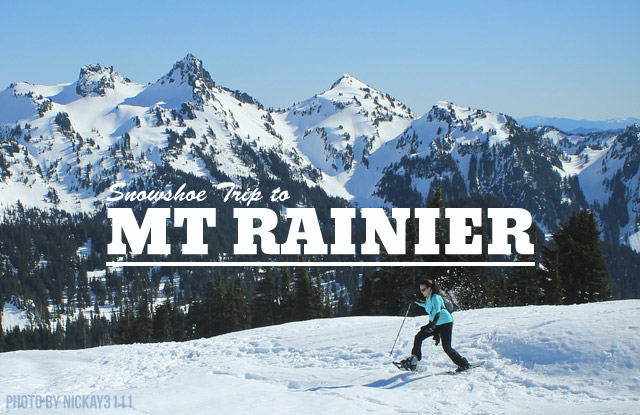 GO: Snowshoeing at Mount Rainier