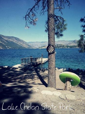 Lake Chelan State Park by Josh Bate