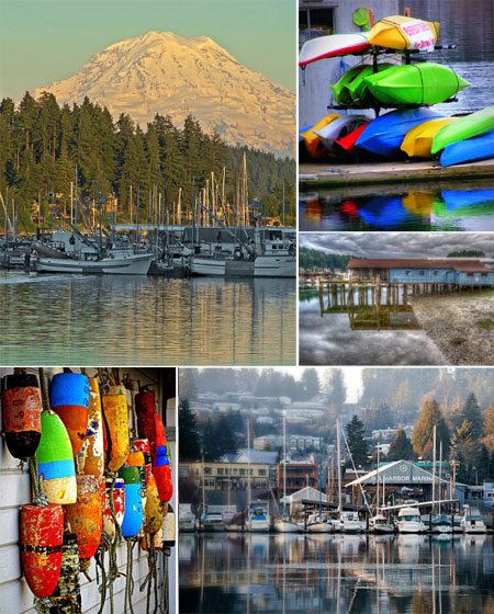 Gig Harbor in full color