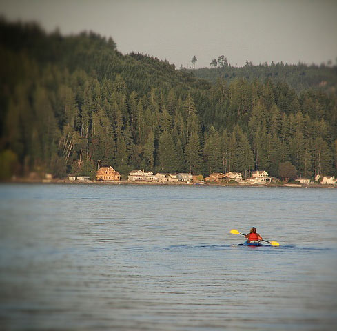 kayaker on Hood Canal Lana_aka_BADGRL