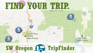 Southwest Oregon Trip Finder