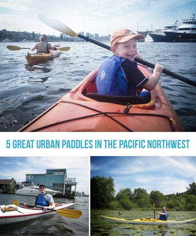 Five Great Urban Paddles