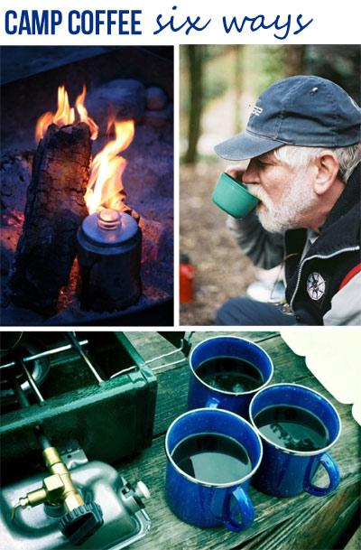 Camping Coffee Six Ways | nwtripfinder.com