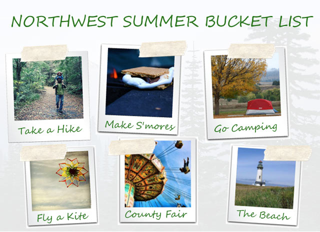 Crafting an AWESOME Summer Bucket List | nwtripfinder.com