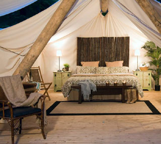 Go Glamping in Washington with Pampered Wilderness