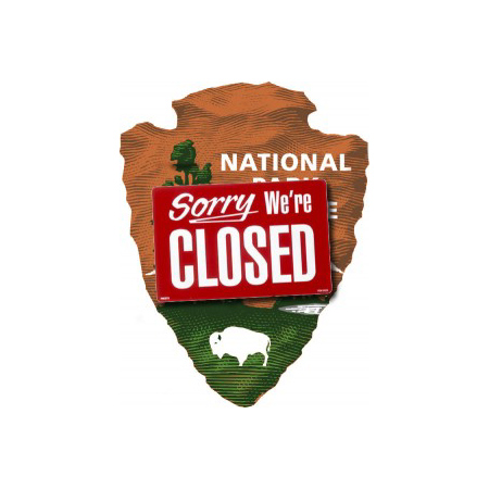 PARKS-CLOSED-SHUTDOWN