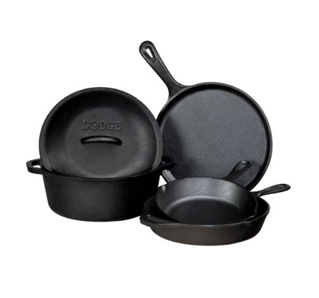 Lodge Cast Iron Cookware Set