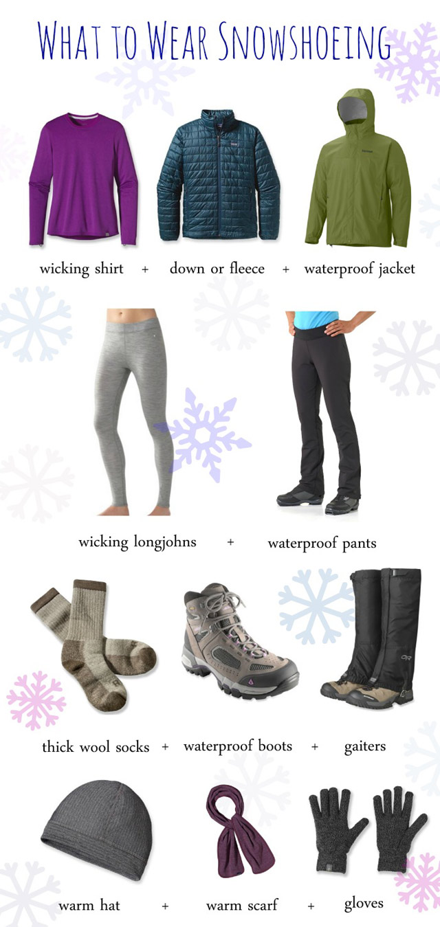 What to Wear on a Snowshoe Hike