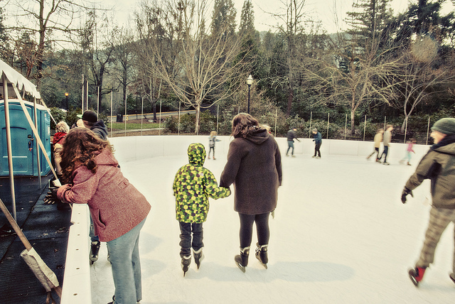 Holidays on Ice - Where to Skate in the Pacific Northwest