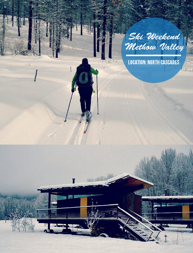 Quick Escape: Cross-Country Ski Weekend in the Methow Valley    < this website has many great trip ideas in the Pacific Northwest!