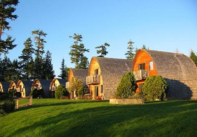 "Ocean Village Resort Cabins in Tofino - ""Escape to Tofino"" on Northwest TripFinder"