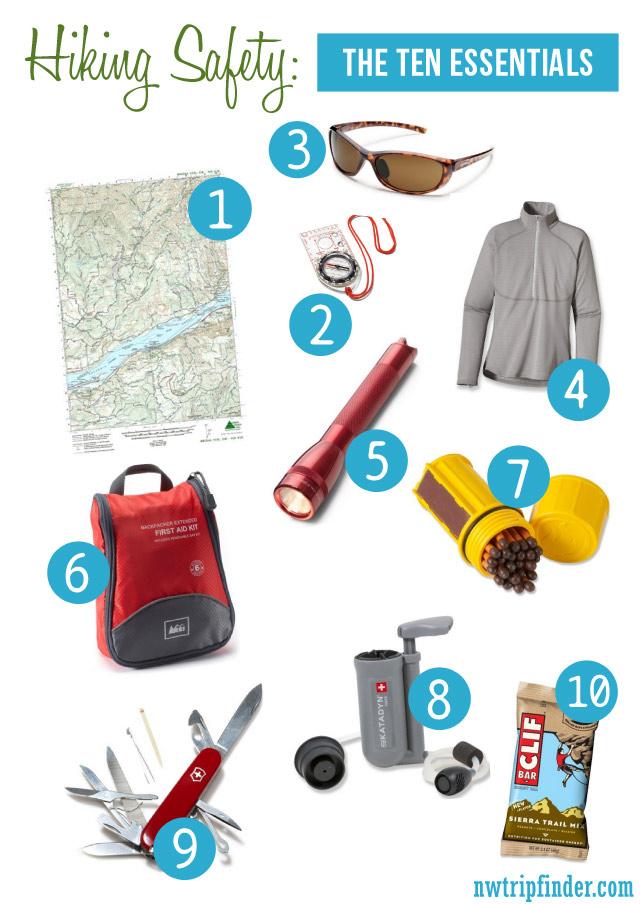 Hiking Safety: The Ten Essentials