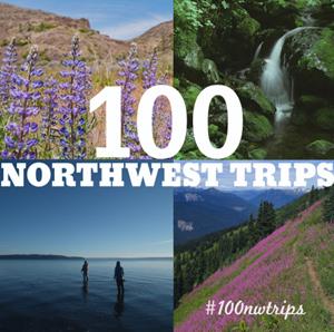 Instagram: 100 Northwest Trips - follow along at instagram.com/nwtripfinder