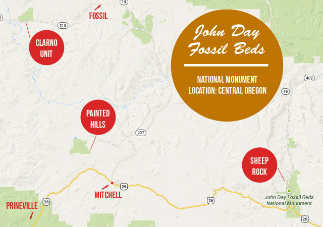 TRIP GUIDE: John Day Fossil Beds