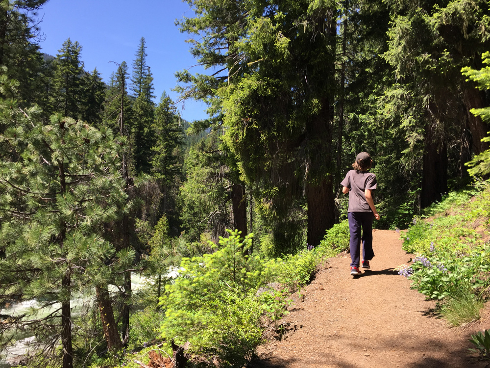 CAMP and HIKE: Icicle Creek Canyon