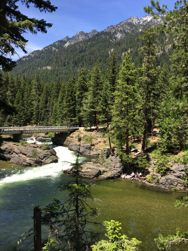 CAMP & HIKE: Icicle Creek Canyon