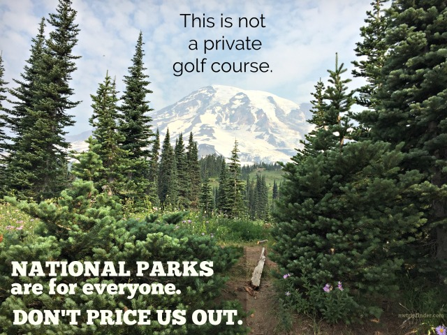 Oppose unfair fees to enter our National Parks